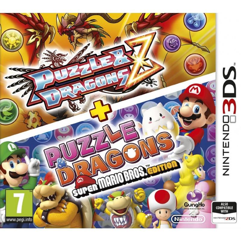 [Nintendo 3DS] Puzzle & Dragons Z + Puzzle & Dragons: Super Mario Bros. Edition - £7.77 - TheGameCollection