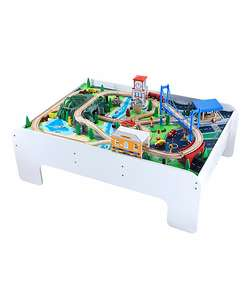 Big City Wooden Train table now half price at £75 with code plus free delivery @ ELC