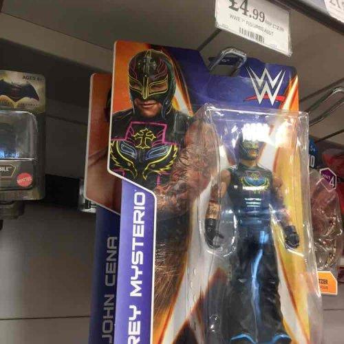 WWE Wrestling Figures - £4.99 Home Bargains