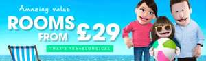 25% OFF your Travelodge hotel stay on any Sunday in June plus 5% Topcashback