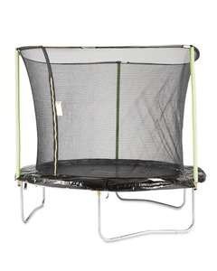 8FT Trampoline with Enclosure now £67.99  (£71.99 delivered) @ Aldi