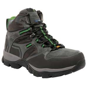 FRONTIER MID HIKING BOOTS BRIAR GREEN sizes uk7,uk8,uk12 down from £100 to £24.95 @ regatta great outdoors