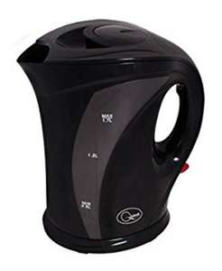 Cordless Fast Boil Electric Jug Kettle with Washable Filter (1.7 L 2200W) ONLY £9.89  @ bestdealfor4 / EBay