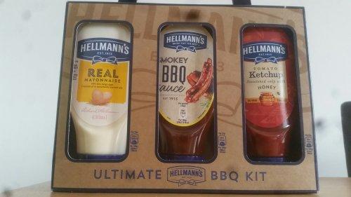 Hellmann's Ultimate BBQ kit  £3 @ Asda