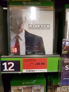Hitman: Steelbook edition Xbox One - £19.99 instore @ Sainsburys