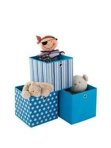 set of 3 storage boxes. £5 delivered via Collect+ @ Very