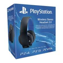 Playstation Black or White Wireless Headset 2.0 £44.86 / Platinum Wireless Headset £89.86 @ Shopto.net