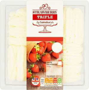 Sainsbury's Strawberry Trifle 600g was £2.50 now £1.50 @ Sainsbury's
