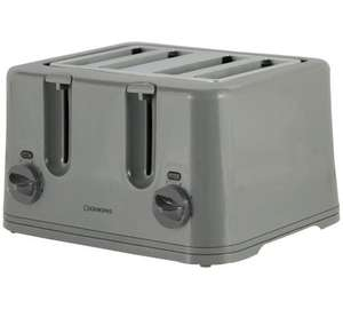 Cookworks KT-223 4 Slice Toaster - Silver £9.99 @ Argos
