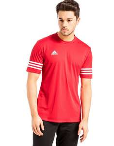 Adidas Entrada Poly T-Shirt £10 (Free Click and Collect) @ JD Sports