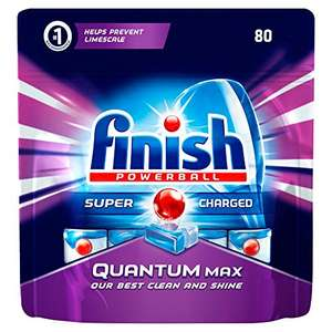 Finish Quantum Original Dishwasher Tablets (Pack of 80) £17.78 S&S @ Amazon