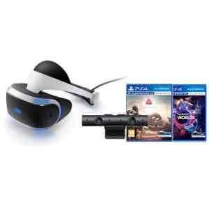 Sony PlayStation VR - Includes PlayStation 4 Camera V2, PlayStation VR Worlds & Farpoint £349.99 @ Zavvi