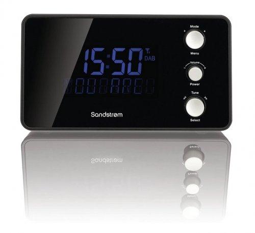 Sandstrom SDABXCR13 Dual Alarm DAB/FM Clock Radio Black, New/Other £21.97 Delivered @ electrical_bargain ebay