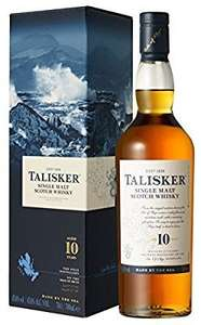 Talisiker Whisky on sale at Amazon. From £23.49
