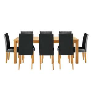 Dining Table and Eight Chairs - Argos Ebay