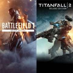 Battlefield™ 1 - Titanfall™ 2 Deluxe Bundle PS4 - £44.99 @ PSN