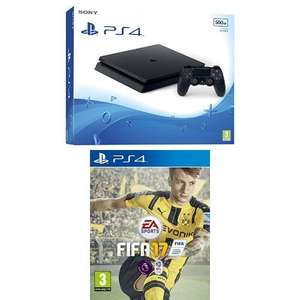 Sony PlayStation 4 500GB + FIFA 17 £199.99 with Amazon Prime