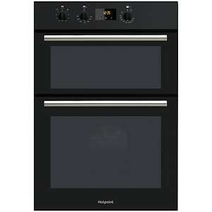 Hotpoint DD2540 double oven - £269 black @ John Lewis