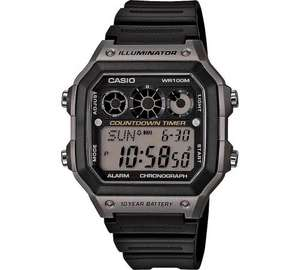 Casio Men's World Time Watch (10 Year Battery) 248/6316 £14.99 @ Argos