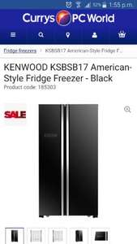 Kenwood American fridge freezer - £469.99 @ Currys