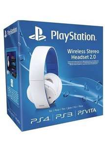 Sony PlayStation 2.0 Wireless Stereo Headset (Black or White) £42.95 @ Base