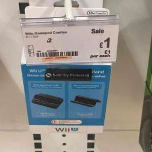 Wii u game pad cradle - £1 instore (Asda longwell green) could be national, comparison £8.75 from amazon and  £16.99 from nintendo store uk