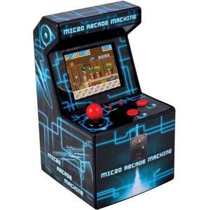 Mini Arcade Machine **Fathers Day ?** £14.99  @MyMemory