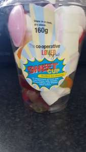 Co op sweet cup 160g only £1 instore