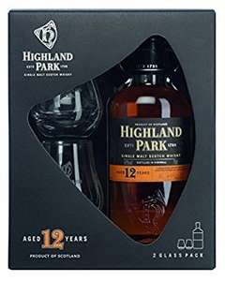 Highland Park whisky gift set lightning deal £23.45 at amazon