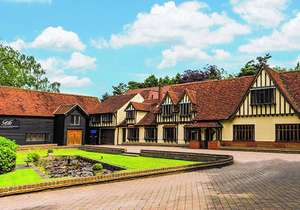 2 Nights Stay for Two  at The Great Hallingbury Manor in a Double Room with Breakfast, Two-Course Dinner and Prosecco on 1st Night £79.50pp @ Groupon