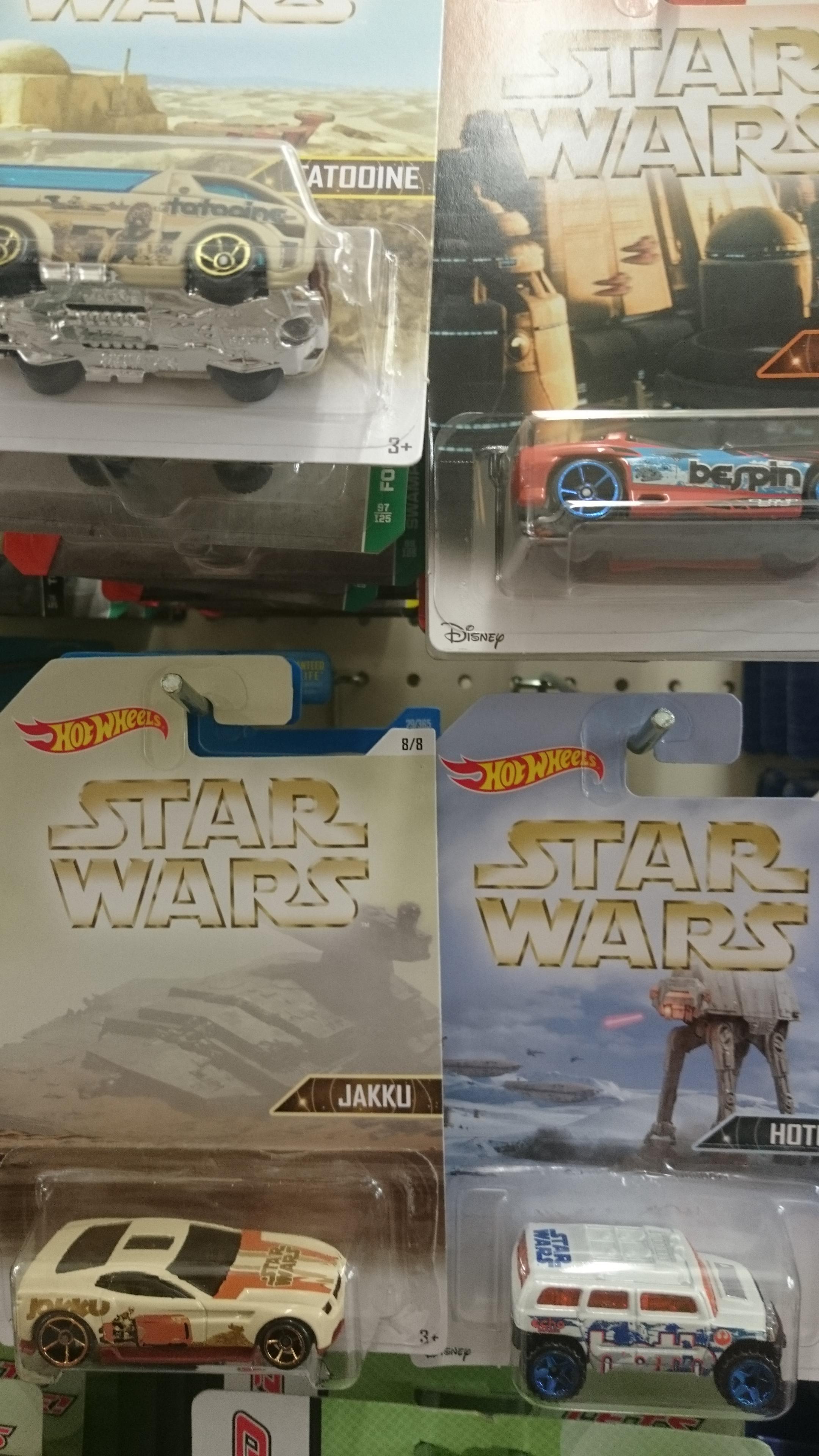 Star wars hotwheels £1.00 instore @ poundland