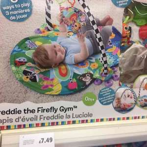 Lamaze Freddie the Firefly 3 in 1 Baby Play Gym - £7.49 instore @ Tesco