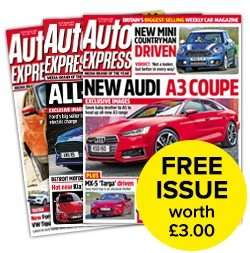 Free Copy of Auto Express magazine
