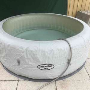 lay z spa - £349 instore Homebase
