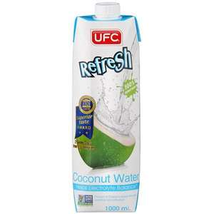 UFC Coconut Water (100%) 1 Litre (Reduced from £2.60) Available In-store and Online - £1.50 @ Tesco