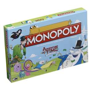 Adventure Time Monopoly £13.49 ( With Code WELOVEDADS) @ Winning Moves