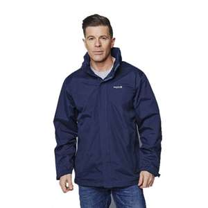 Regatta Royden Mens Navy Waterproof Windproof Hooded Jacket (Small) - £9.99 @ eBay / portstewart-clothing-company