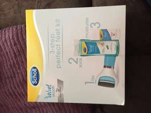 Scholl Velvet Smooth Electric Foot File Set Inc File, Foot soak, Cream and Batteries £14.99 @ Savers