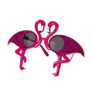 Stunning Flamingo Sunglasses £2 Del with code @ The Works (also Cocktail Fish Bowl Set for £5 Del / Flamingo LED lights £6 Del)