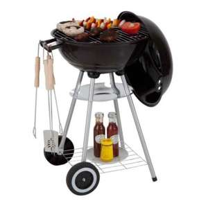 kettle BBQ starter pack with utensils and cover £24.99 @ Argos