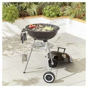 Starter Kettle BBQ Set including Tools and Cover £20 @ Tesco online and instore