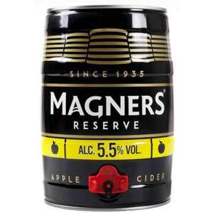 5Ltr Magners Keg £15 @ Morrisons (Also Iron Maiden Trooper and Black sheep)