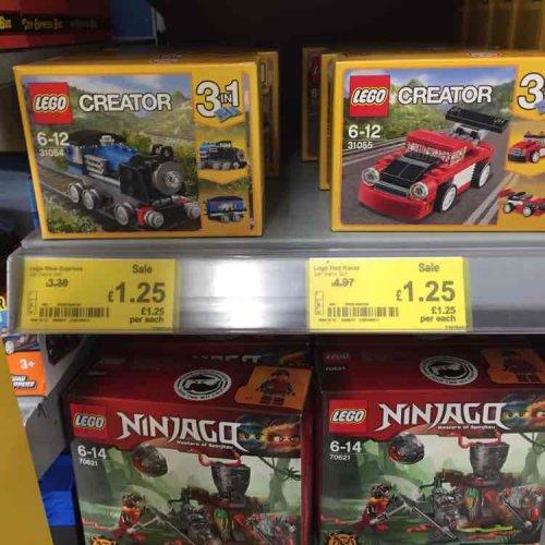 Lego Creator 3in1 6-12 £1.25 @ Asda Killingbeck Leeds p. Nationwide