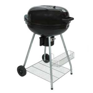 Dobbies 57cm Charcoal Kettle BBQ 50% Off £32 / £36.95 delivered @ Dobbies
