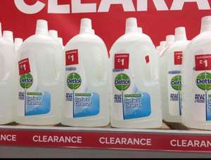 Dettol Surface Cleanser 2 litre bottle £1 at B&Q - Hull
