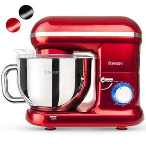 Salvisto 1260w Retro Stand Mixer only £69.95 Sold by SAVISTO and Fulfilled by Amazon