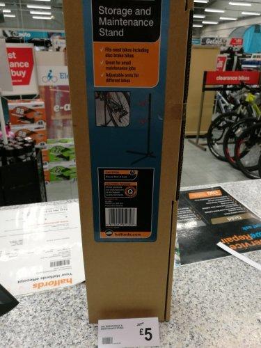 halfords bike storage/maintenance stand £5
