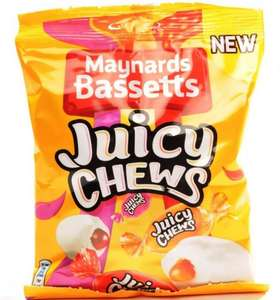 Maynards Bassetts Juicy Chews 2 Bags for £1 @ Heron