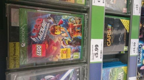 The Lego Movie Videogame Xbox One £5.99 @ Sainsburys