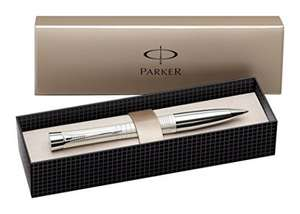 Parker Urban Premium Ball Pen with Medium Nib (Pearl Lacquer & Chrome) was £31.50 now £13.99 (Prime) / £17.98 (Non - Prime) @ Amazon